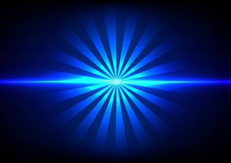 heaven and earth: abstract blue light sunlight effect background