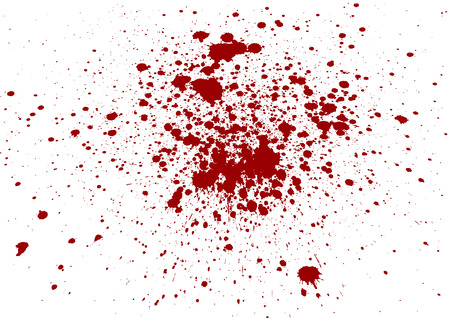 ink splat: Abstract  splatter blood isolate background