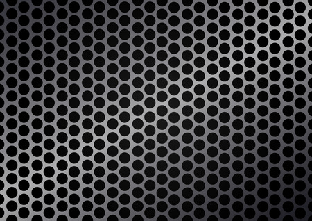 reticulation: Vector cell metal background