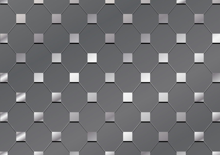 diamondplate: steel net square plate texture background Illustration