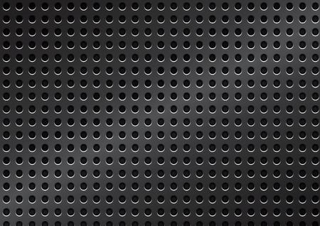 netty: Vector rejilla met�lica de fondo