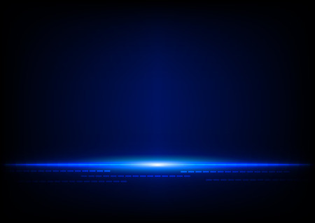 abstract technology blue concept background Vectores