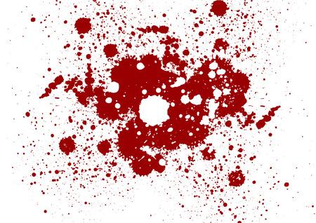 Vector Grunge rode kleur achtergrond. Splatter rode kleur achtergrond Stock Illustratie
