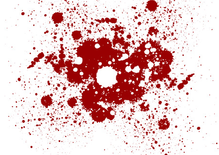 Vector Grunge red color background. Splatter red color background