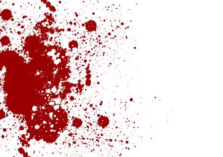 Vector splatter red color background. Vector illustration. Grunge background