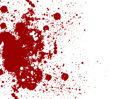 Vector splatter red color background. Vector illustration. Grunge background