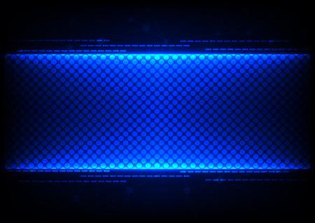 Abstracte technologie blauwe concept ontwerp achtergrond