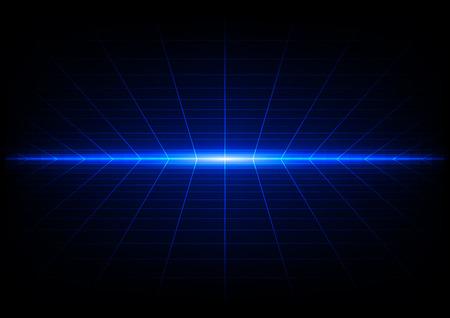 rejillas abstractas sobre fondo azul de luz