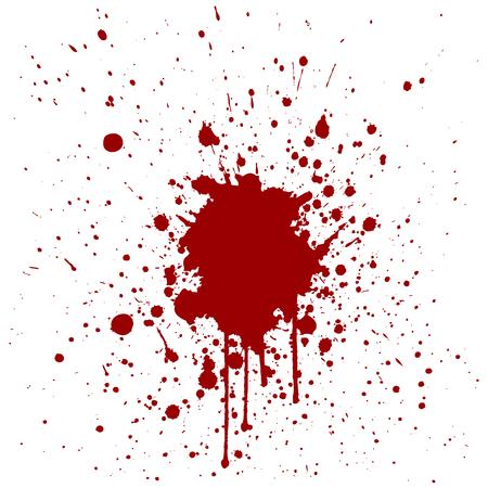 abstract splatter red color background design.illustration vector