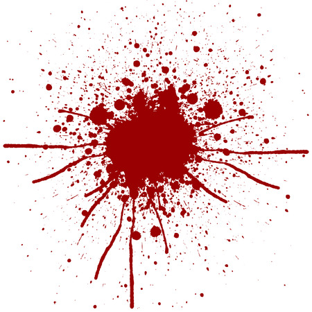 abstract splatter red color background design.