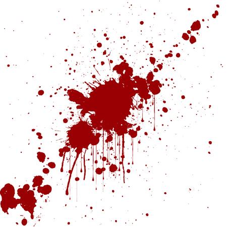 stains: vector splatter red color background. illustraitttion