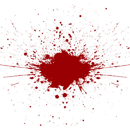 abstract splatter red color background. illustration vector