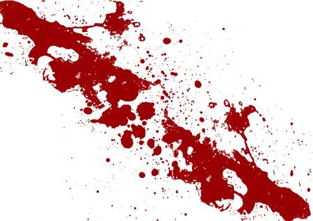 blood stain: Vector splatter black color background. illustration vector design Illustration