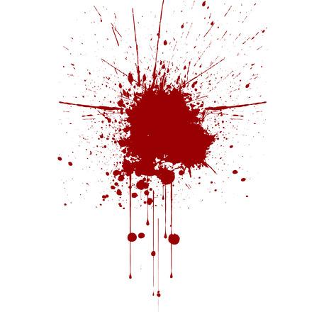 ink splatter: Vector red ink splatter background. illustration vector design.