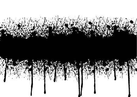separator: Vector splatter background element. illustration vector design