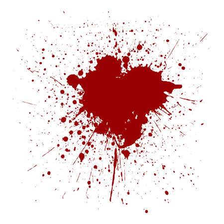 illustraition: vector splatter red color background. illustraition vector design