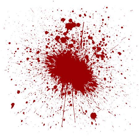 ink splatter: Red Ink Splatter Background. illustration vector design