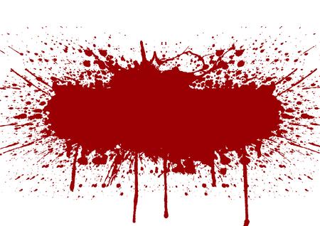 Vector splatter rode kleur achtergrond. illustratie vector design