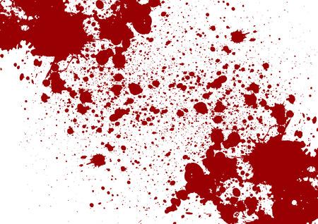 Vector splatter red color background. illustration vector design Vector Illustration