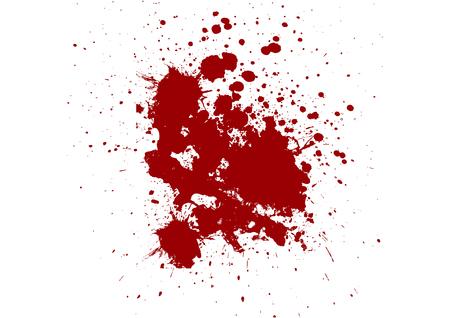 ink splatter: red ink splatter background. illustration design