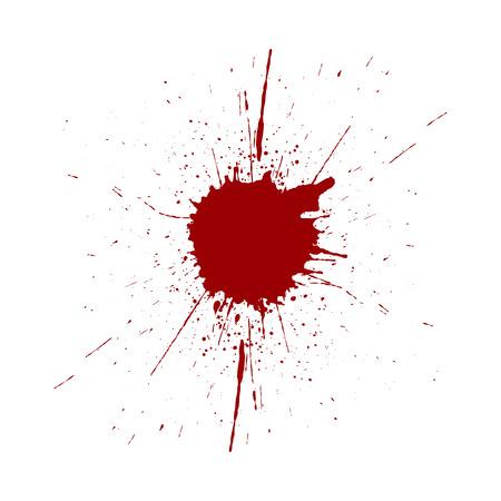 splatter red color background. illustraitttion