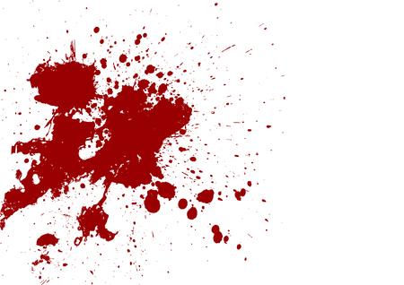 mess: splatter red color background.