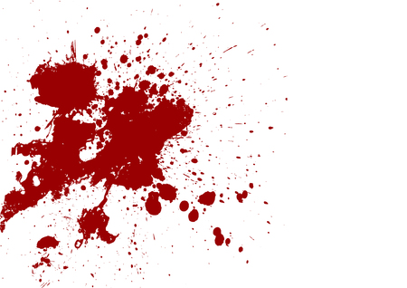 splatter red color background.