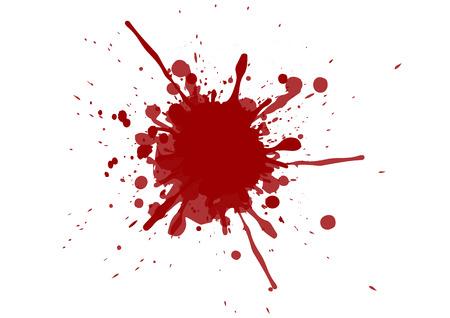 Vector splatter red color background. illustration vector design