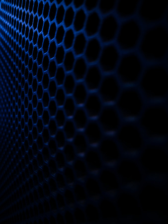 Abstract of modern high tech Network servers Stock Photo