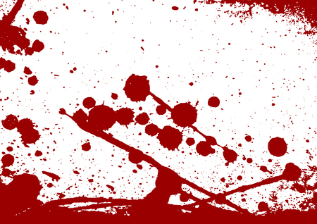abstract vector paint splatter red color isolated background