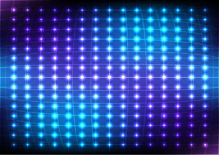 Abstract Dot Blue Light  Vector Background. illustration vector design.