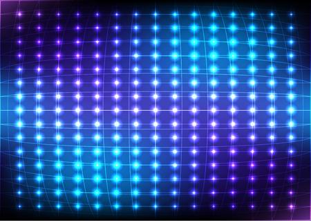 Abstract Dot Blue Light  Vector Background. illustration vector design.