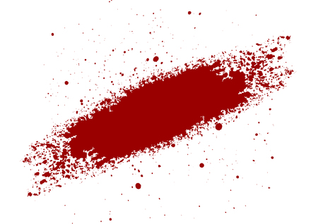 abstract vector Blood splatter painted isolated background. illustration vector design