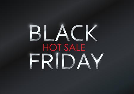 black friday sale background. illustration vector design