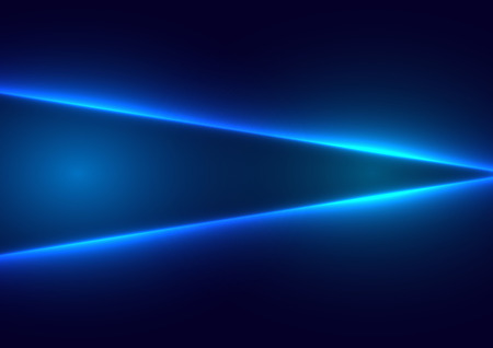 Abstract blue light  concept of future background. illustration vector design