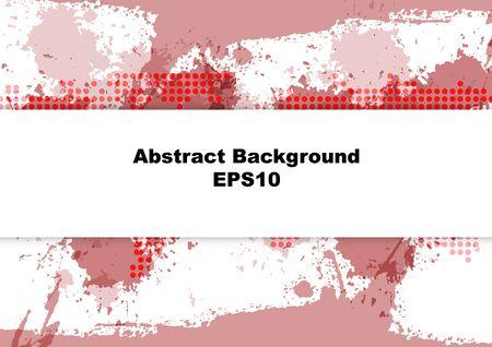 abstract splatter red design background,illustration vector design background.