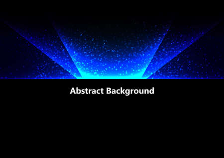 Abstract vector blue light  background design. illustration vector design.