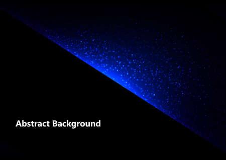 Abstract vector blue light  design concept background, vector illustration design background
