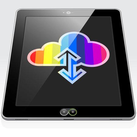 A rainbow stripped Data Cloud
