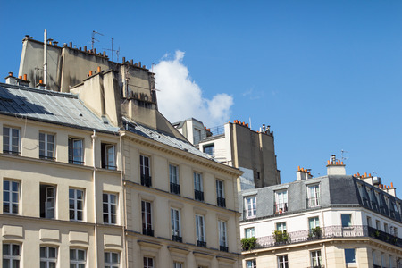 rooftops: Traditional Paris rooftops