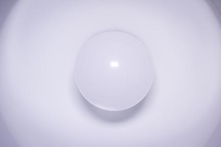 lamp light: White light bulb in lamp