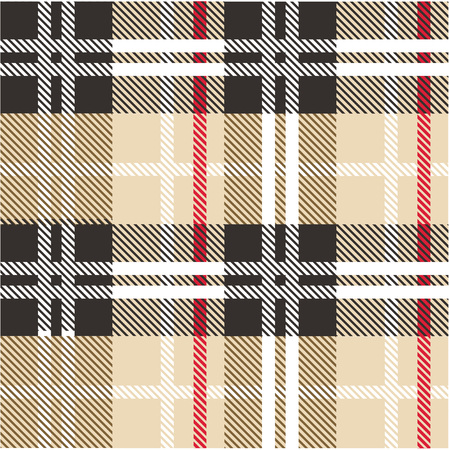 Angielski check pattern vector