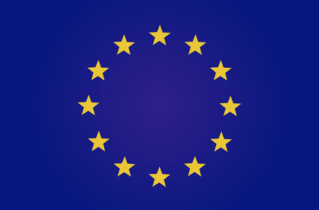 EU の旗  イラスト・ベクター素材