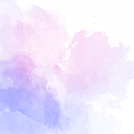 Blue watercolor background vector 矢量图像