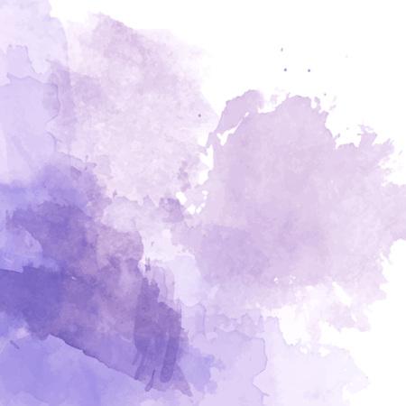 Violet watercolor background vector Stock Illustratie