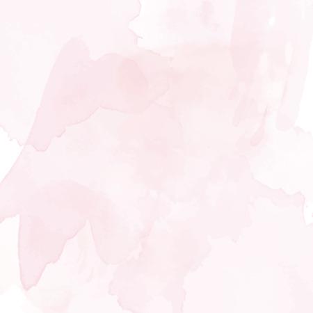 Rosa Aquarell Hintergrund Vektor