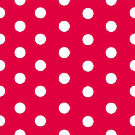 Polka dot pattern vector Stock Photo