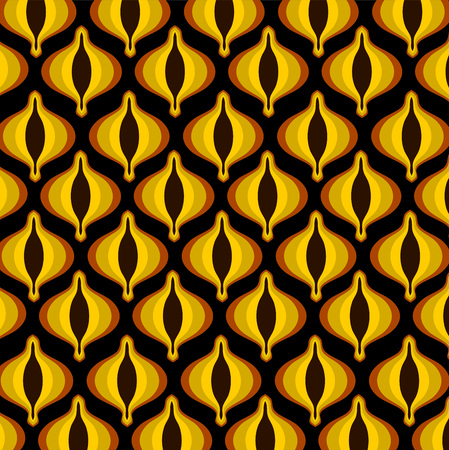 pattern: Fashion pattern vector from the 70s