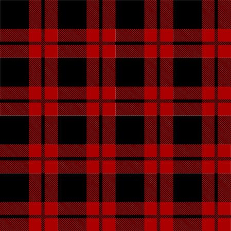 Lumberjack plaid pattern vector 스톡 콘텐츠