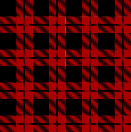 Lumberjack plaid pattern vector Stock Photo